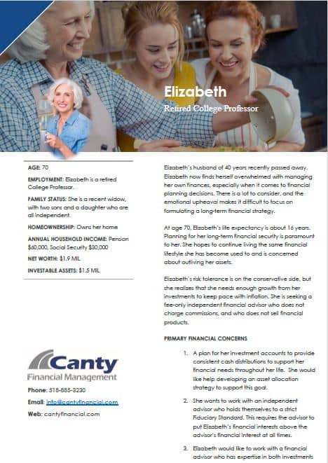 case study elizabeth